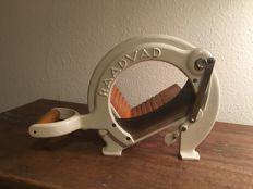 Vintage Raadvad Cutter / Bread Slicer Danish Design no. 294 white 1970's