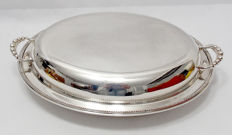 Silver Plated Serving Dish - C C & Co England Early 20th Century
