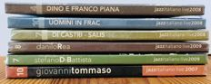 Italian Jazz Live - Lot of six CDs out of commerce, with unpublished live session recording at Casa Del Jazz, Rome, 2007/2008/2009