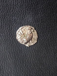 Greek Antiquity - Sicily, Himera, Litra 483-472 AC - extremely rare (R5) - False coin from the Greek era, Ae bronze with silver coating