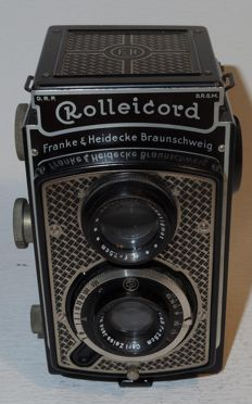 "Rolleicord I ""Art Deco"" -  6x6 TLR - circa 1935"