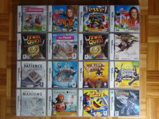 16 Nintendo DS games like Pokemon Diamant , Jewel Quest and more