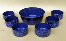 Set per macedonia - vintage anni '60 - Silit W. Germany