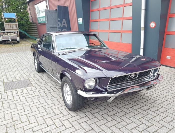 Ford - Mustang Hardtop Coupe  - 1968