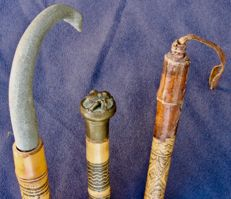 Three canes North Africa - 2nd part of the 20th century