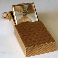 Cigarette lighter shaped pocket watch - very rare - Unisex - 1950-1959