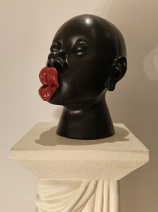 Sculpture Head - Kiss - Eyecatcher