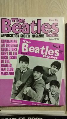 Beatles Monthly; complete from may 1976 - february 1986 (118 issues)