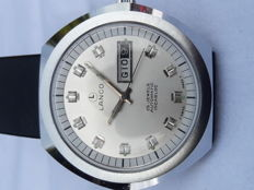 Lanco Oversize Day Date Automatic NOS 1970