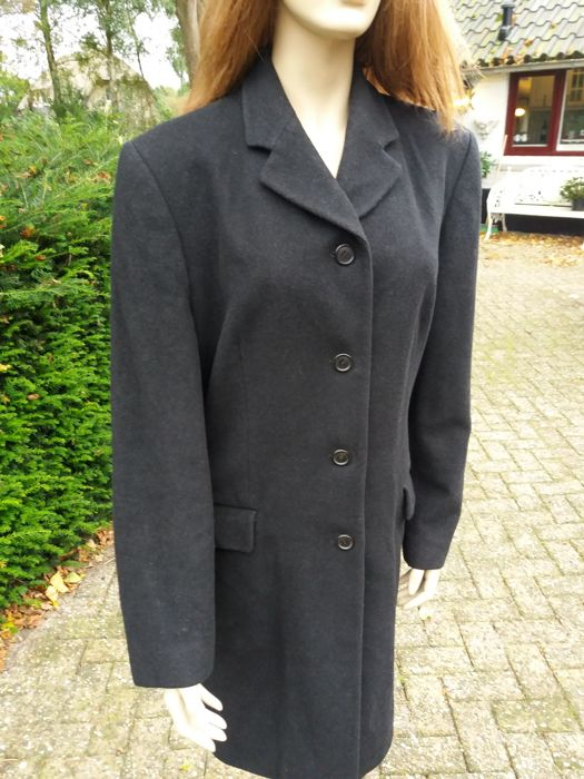 f360a77f7524 Burberry London - Stylish long coat with cashmere - Catawiki
