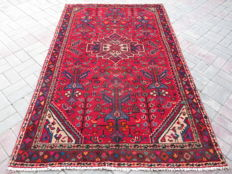 Rare Antique Hand Knotted Persian Rug 226 x 138 cm