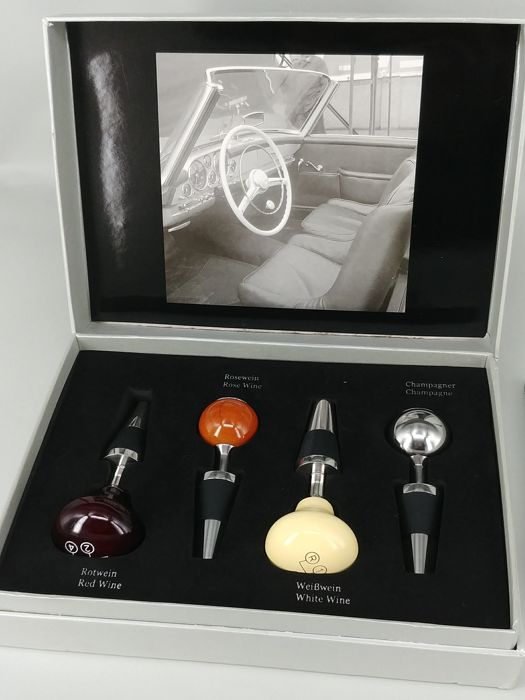 Genuine Mercedes-Benz Wine Stopper Gift Set