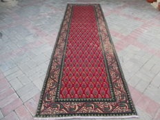 Rare Antique Hand Knotted Persian Runner 243 x 96 cm
