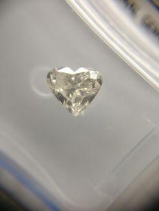 0.53 ct Heart cut diamond G VS2