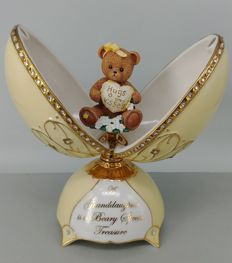 Ardleigh Elliott Music Box - Beary Loved Granddaughter