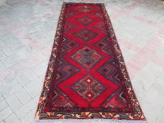 Rare Antique Hand Knotted Persian Runner 283 x 100 cm