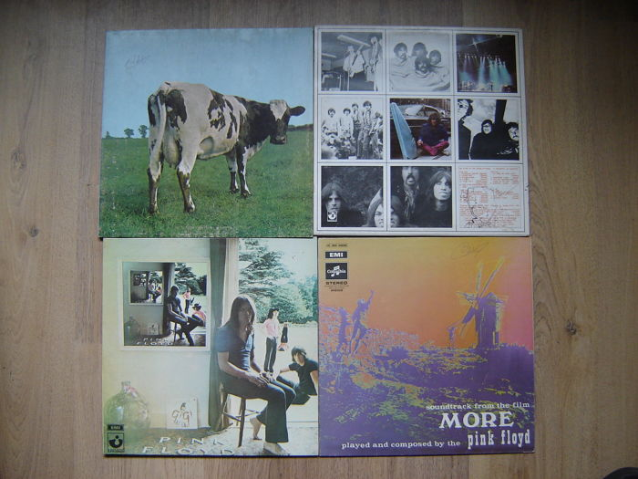 4 Pink Floyd Albums - 1970 1968  And Two Of 1969