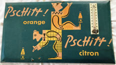 Glacoid advertising thermometer - PSCHITT - 1950 (by Jean Carlu)