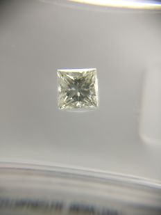 0.31 ct Princess cut diamond G VS2