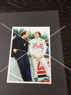 Gilles Villeneuve's last photographs, never published, Zolder 8 May 08 1982