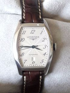 Longines 'evidenza' model/ref. No. L 2.142.4 with original box, service manual and warranty card