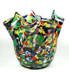 Campanella (Campanella Livio) - Fazzoletto Vase with Multicoloured Mace