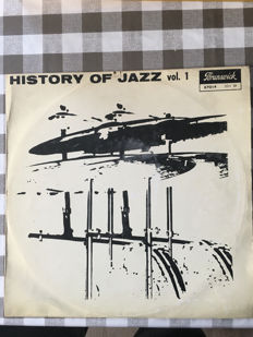 Lot of x3 History Of Jazz vol. 1 / Porunsivick records N 87 014 - Standard + N 87 015 - Standard + Cannonball SOUL Mercurry Records N 7 199
