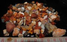Natural Rough Mexican Cherry Opal Lot - 308ct