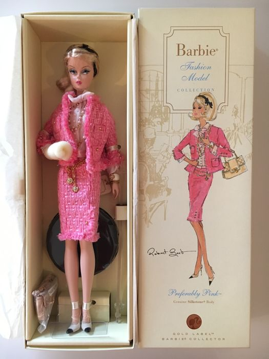 Silkstone Barbie - Preferably Pink - Mattel - US