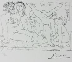 Pablo Picasso (after) - Suite Vollard , Plate LIV