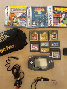 Nintendo Gameboy Advance incl. 11 games (3 in box)