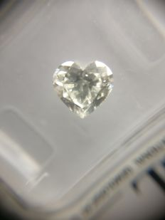 1.00 ct Heart cut diamond G VS1