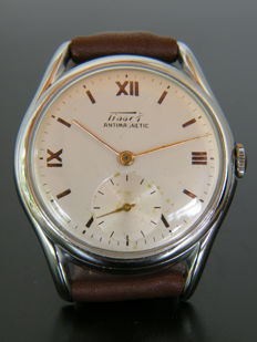 TISSOT - Men's wristwatch from early 1950s - Very good condition.