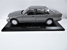 Norev - Scale 1/18 - Mercedes-Benz S 600 - Grey