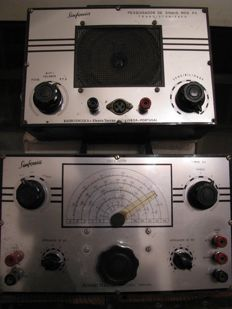 Signal tracker and oscillator - transistor radio