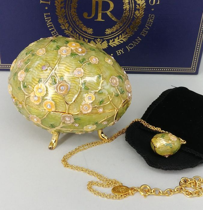 Joan Rivers Limited Edition 2008 Imperial Treasures Egg Keepsake Box