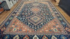 Gorgeous Indian rug - 305 x 200 cm - hand-knotted