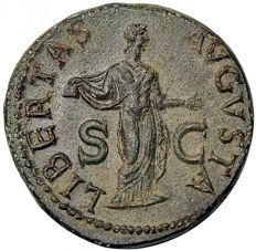 Roman Empire - Claudius As circa 41-50. Rome