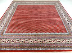 """Mir - 250 x 239 cm. - """"Oriental rug in beautiful condition"""" - With certificate."""