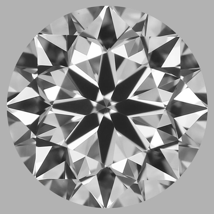 Round Brilliant Diamond 0.70 Carat , F VS1   Cert: GIA  #DS-28 -original image10X