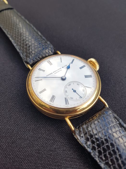 Patek Philippe - Marriage Watch-silver Gold Plated Case - Movement And Dial From Ca.1880-1890 - Heren - 1850-1900
