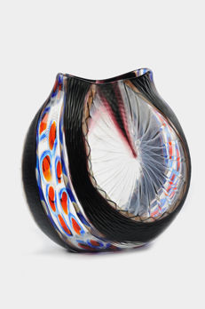 Luca Vidal for Officine di Murano 1295 - molato vase (35 cm)