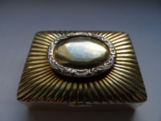 Antique Very Rare Gilt Solid Silver Vinaigrette, 18th Century