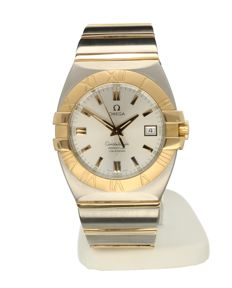 Omega -  Omega Constellation Double Eagle Goud staal 38 mm - 396.1203 - Herrar - 2000-2010