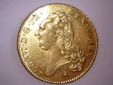 France - Louis XVI (1774-1793) - Double Louis d'or 1786 A (Paris) - gold