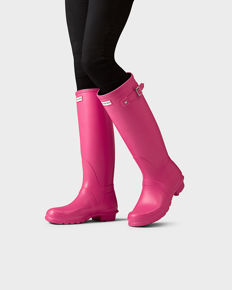 Hunter boots with ideal socks, almost new!