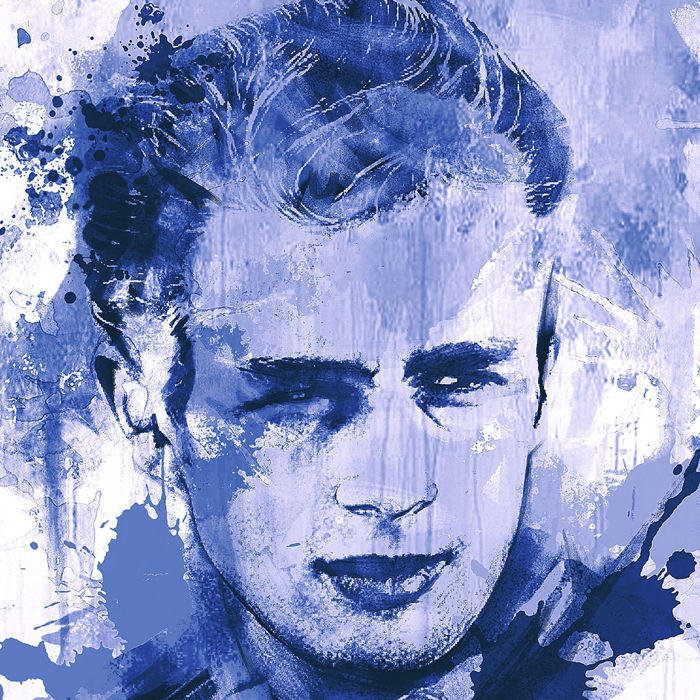 Franz Rauenschwender-  James Dean - Hollywood Classic - Steel blue Edition