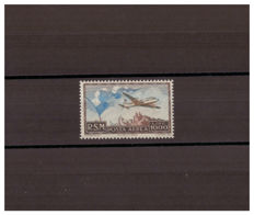 San Marino 1951 - 1,000 lire dark brown and sky blue - Sass.  No. 99