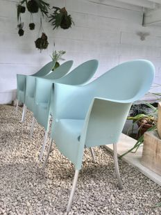 Philippe Starck for Driade Aleph - 4 chairs Lord Yo