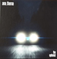 Anathema – The Optimist    Limited edition    Harback Book    Deluxe edition